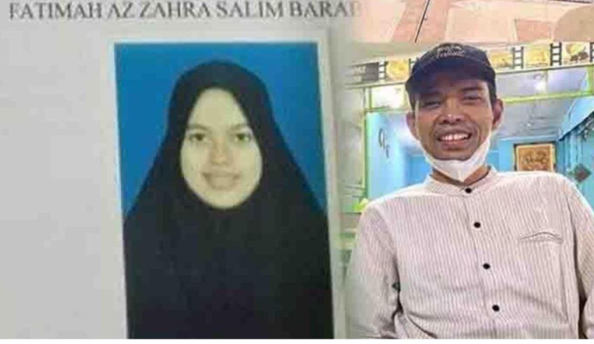 Gambar Ustaz Abdul Somad dan bakal isteri berusia 19 tahun. FOTO Instagram.
