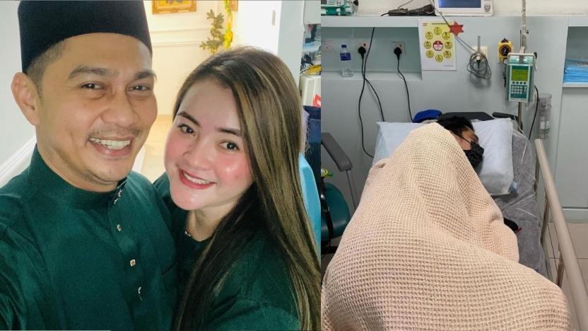 """""""Kurus Sebab Sakit""""- 2 Minggu Tak Makan, Fizz Fairuz Dikejarkan Ke Hospital"""